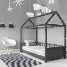 Baby Bedroom, Baby Boy Rooms, Baby Room Decor, Girls Bedroom, Bedroom Decor, Bedroom Ideas, Wood Bedroom, Grey Bedrooms, Bedroom For Kids