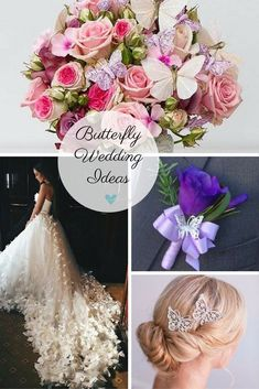 butterfly wedding ideas for brides