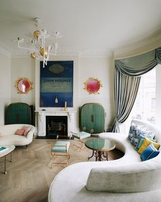 Round Sofas Are Back — Here's Proof in 12 Designer Interiors | The Study