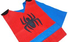 PARTY PACK Spiderman Costume Tunic with by TeatotsPartyPlanning