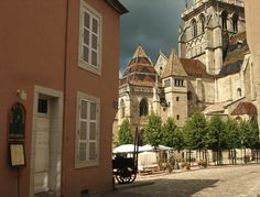 Autun, France. AUTUN - Cathédrale Saint Lazare