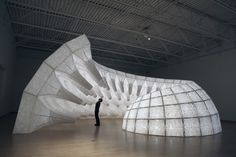 The work of John Grade is dynamic and ever-changing; interested in natural material, form, decay and the passing of time, Grade creates sculptures both indoors and outdoors. He works in all scales, but his most astounding works are site – specific large sculptures, that often travel to canyons, mountains, glaciers and bodies of water to [...]