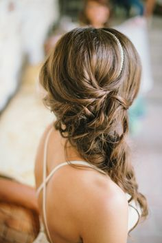 Wedding Makeup Rustic Brides Hair Flowers Super Ideas Hochzeits Make-up Rustikale Bräute H Micro Braids Hairstyles, Bride Hairstyles, Vintage Hairstyles, Cool Hairstyles, Gorgeous Hairstyles, Bride Hair Flowers, Best Wedding Makeup, Wedding Tips, Wedding Ceremony