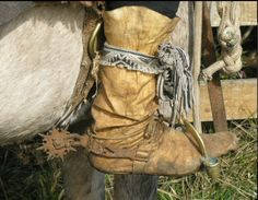 Gaucho spurs. Yikes!