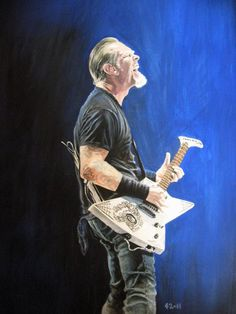 James Hetfield by CBailey52 on deviantART
