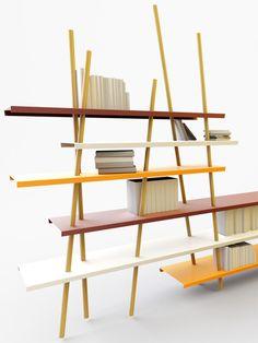 studio arne quinze: fingers shelving system - designboom | architecture