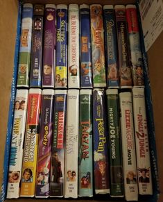 Disney and More Classic Clamshell VHS Tapes Lot of 34