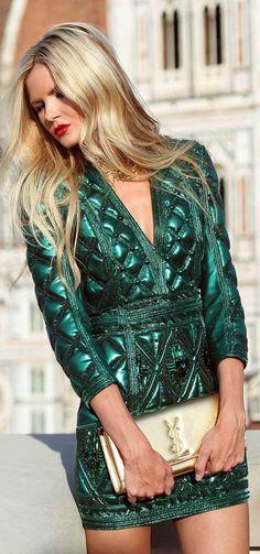 Verde & YSL ~ Colette Le Mason @}-,-;—