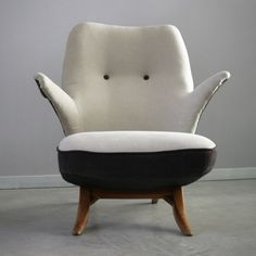 Fauteuil Pinguin, Theo Ruth, Artifort, 1957