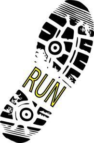 bing free clip art running shoes running running shoe vector clip rh pinterest com running shoes graphic clipart running shoes clipart free