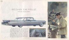 1960 Cadillac Sedan De Ville (Four Window)