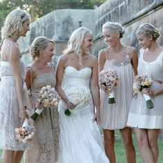 Different Bridesmaid Dress Ideas