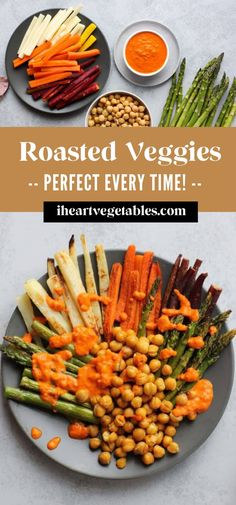 Roasting is one of the most delicious and easy ways to prepare vegetables. From carrots to potatoes, broccoli to squash, I'm sharing all my best tips for creating perfectly roasted vegetables in your oven!