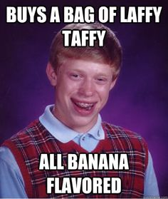 Bad Luck Brian meme was originated in January Here are 50 hilarious memes showing why he's still making our sides split years later. Memes Humor, Humor Videos, Funny Humor, Hilarious Memes, Funny Stuff, Funniest Memes, Videos Funny, Funny Things, Vape Memes