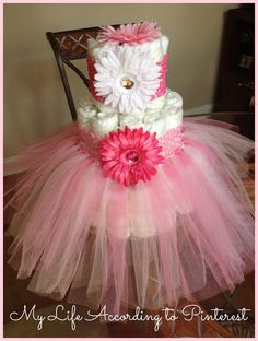 A perfect princess cake that comes with a tutu.