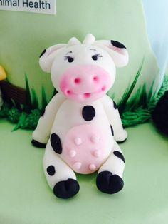 Vaca de fondant, Cow