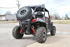 ATR Polaris RZR Roll Cage Extension with Spare Tire Mount
