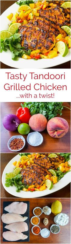 Tasty Tandoori Grilled Chicken with a Twist - 1 of 19 delicious & nutritious recipes featuring local sustainable ingredients in this year's #MilkCalendar from @DairyFarrmersofCanada Get the recipe & find out how to order your #MilkCalendar. #sponsored
