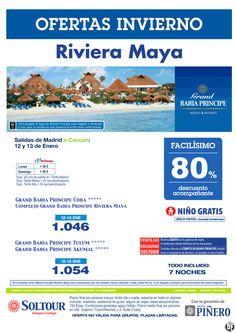 Riviera Maya (México) 80% Grand Bahía Príncipe Riviera Maya, salidas 12 y 13 Enero desde Madrid ultimo minuto - http://zocotours.com/riviera-maya-mexico-80-grand-bahia-principe-riviera-maya-salidas-12-y-13-enero-desde-madrid-ultimo-minuto/