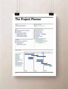 This Simple One Sheet Printable PDF Project Planner Is Perfect To Get You Organized On Those Complex Projects. Planner Pdf, Weekly Planner, Printable Planner, Printable Calendars, Daily Work Planner, Planner Board, Printables, Budget Planner, Project Planner Template