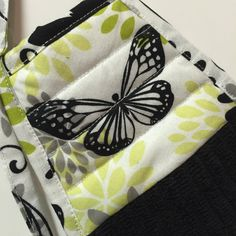 Butterfly Kitchen Towel,Butterfly Hand Towel,Black Butterfly,Black Towel, Butterfly Decor