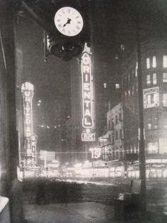 Our 'Great White Way', State and Randolph, 1927, Chicago.