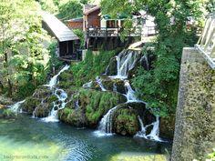 Rastoke Croatia Buk Waterfall