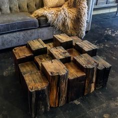 Beam Block Coffee Table