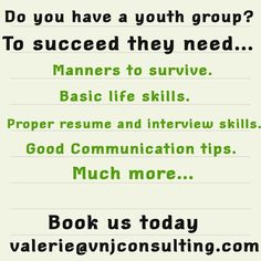 We coach youth. Email us for details on our seminars.