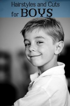 Check out these pictures and ideas for little boys' haircuts. From layered short looks to long styles, there are plenty of ideas.