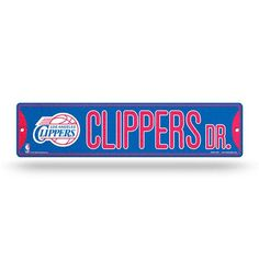 Los Angeles Clippers Bling Street Sign