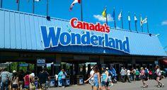 I love amusement parks, I love the Drop Zone ride at Canada's Wonderland.