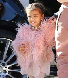 It's all about #Chokers for us this Saturday! How adorable does #NorthWest in this super cute choker look!  #Nori #Fashion #Luxury #Style #AboutALook #CelebrityFashion #KimKardashian