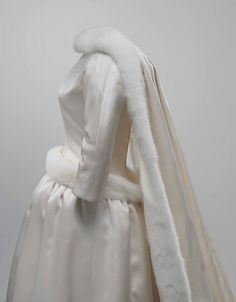 Wedding dress worn by Princess Fabiola of Spain at her marriage to King Baudouin of Belgium