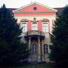 The hidden Zichy Palace in Óbuda, Budapest.