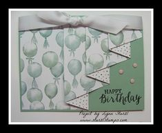 Drapery Fold or Curtain Fold Card by starzlmom28 - Cards and Paper Crafts at Splitcoaststampers