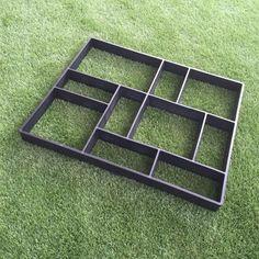[EBay] Free Shipping Rectangle Garden Paving Plastic Mold For Garden Concrete Molds Garden Path Diy Stone Model Shovel D 45*40*4 Cm