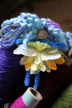 Pipe cleaner fairies - love them!