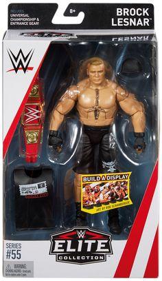 WWE Brock Lesnar - Elite 55 Toy Wrestling Action Figure Brock Lesnar Wwe, Wwe Brock, Wwe Bedroom, Figuras Wwe, Houston Zoo, Eddie Guerrero, Wwe Toys, Wwe Action Figures, Wwe Elite