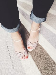 Shoes made for spring by kraft&mint  #fashion #modcloth