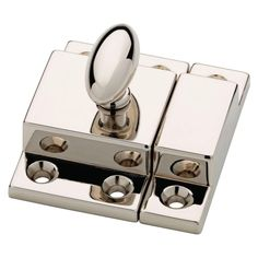 Martha Stewart Living Matchbox Catch in brass or polished nickel P21221C-474-CP ($6.97)