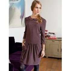 Robe manches 3/4, Mademoiselle R