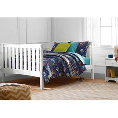 Better Homes and Gardens Pine Creek Kids Full Bed, White Finish - Walmart.com