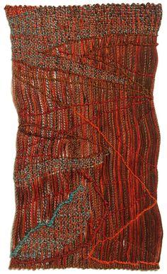 Rational Beauty: Sheila Hicks—Weaving as Metaphor Weaving Textiles, Weaving Art, Tapestry Weaving, Hand Weaving, Textile Fiber Art, Textile Artists, Sheila Hicks, Art Du Fil, Yarn Thread