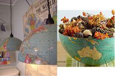 From globe o lamp/ bowl