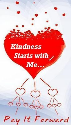EAD 504 students - let's start the trend - next class bring us your story of a random act of kindness - do it from now until next class ; )))