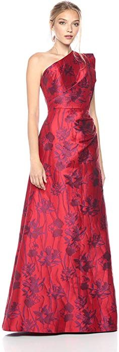 Find ML Monique Lhuillier Women's One Shoulder Floral Gown online. Shop the latest collection of ML Monique Lhuillier Women's One Shoulder Floral Gown from the popular stores - all in one Ml Monique Lhuillier, Long Formal Gowns, Floral Gown, Most Beautiful Dresses, Gowns Online, Classy Dress, Fit Flare Dress, Women's Fashion Dresses, Short Dresses