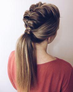 Я обожаю этот хвост с плетением 🤤 Все причёски по хэштегу ⏩⏩⏩ #укладка_hairvoyage #summer #hair #limitededition #beach #texture #girl #beauty #love #l4l #instagood #instagram #like4like #волосы #photooftheday#zoneconcept#milkshake #tigi #tigirussia #bedhead #summer #hair #limitededition #beach #texture #girl #beauty #love #l4l #instagood #instagram #like4like #волосы #photooftheday#hairstyle#hair#hairstyles#hairdresser