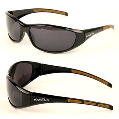 Baltimore Ravens UV400 Wrap Sunglasses