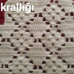 Crochet Flower Patterns, Crochet Stitches Patterns, Crochet Chart, Crochet Designs, Knitting Patterns, Crochet Vintage, Crochet Lace, Simple Crochet, Crochet Baby Cardigan